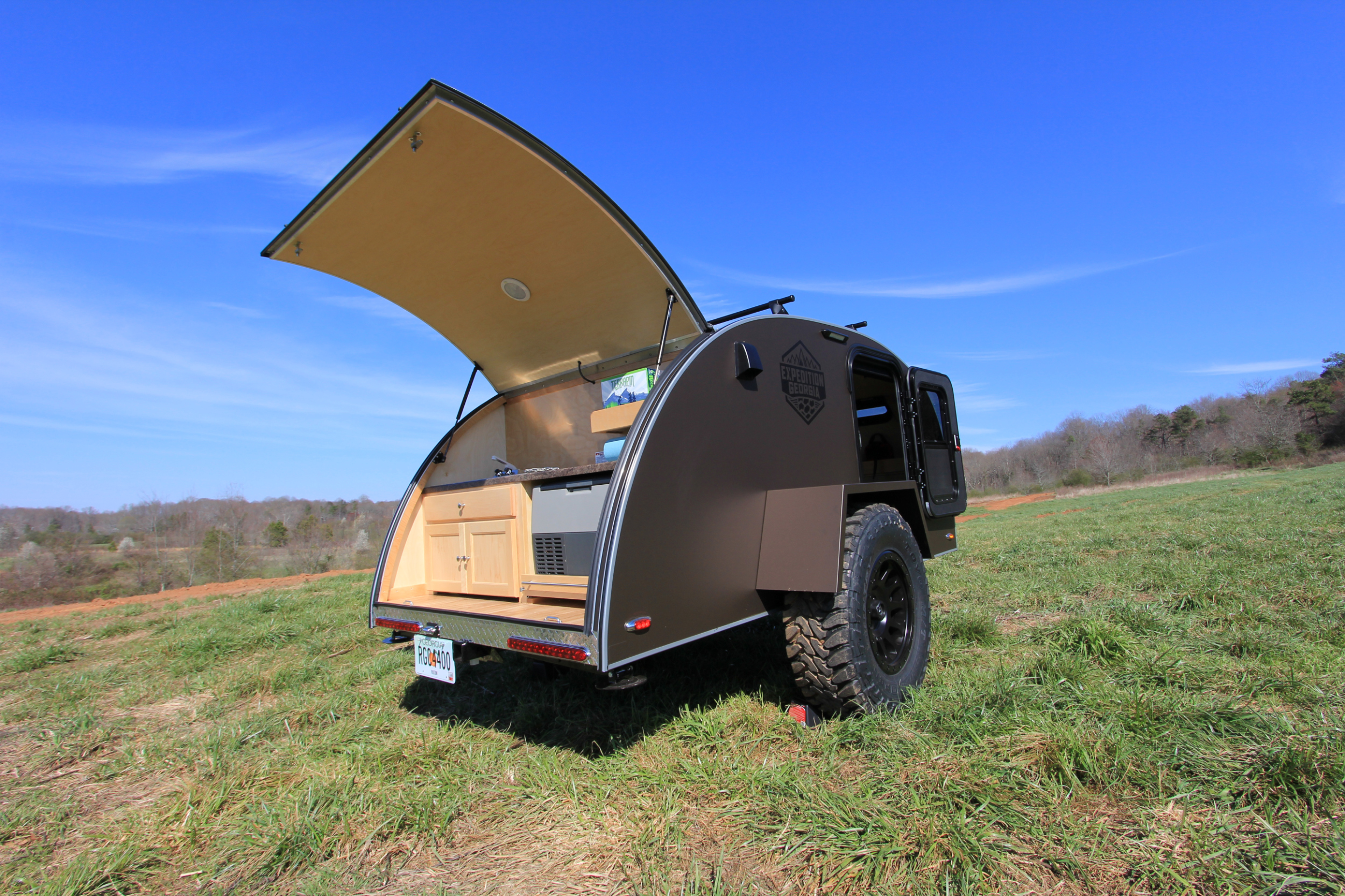 off road expedition trailer