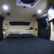 Expedition Trailer Interior Queen Bed 3