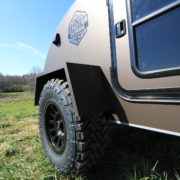 Off Road Teardrop Expedition Trailer Wide Fenders Toyo Tires