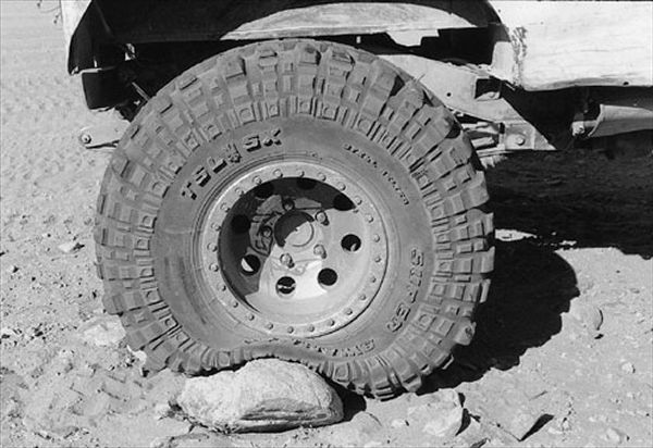 Airing-Down Tires