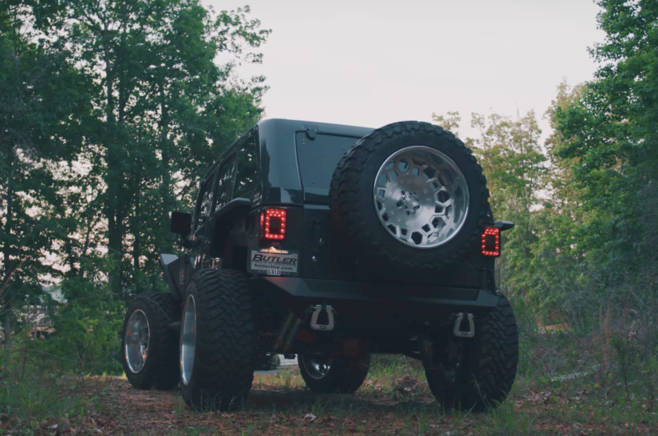Wild Jeep Wrangler By Butler Tire
