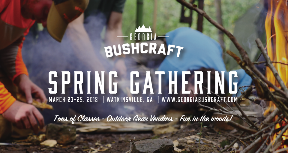 Georgia Bushcraft Spring Gathering 2018