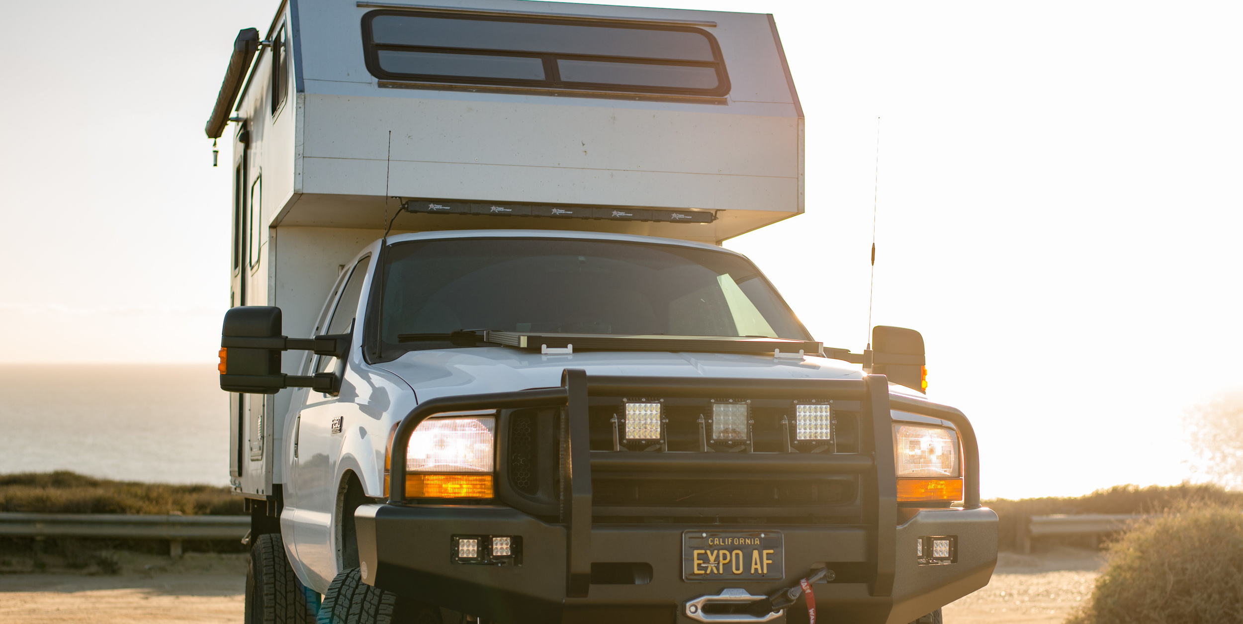 """The Perfect Expedition Camper – """"Bruce"""" The F250"""