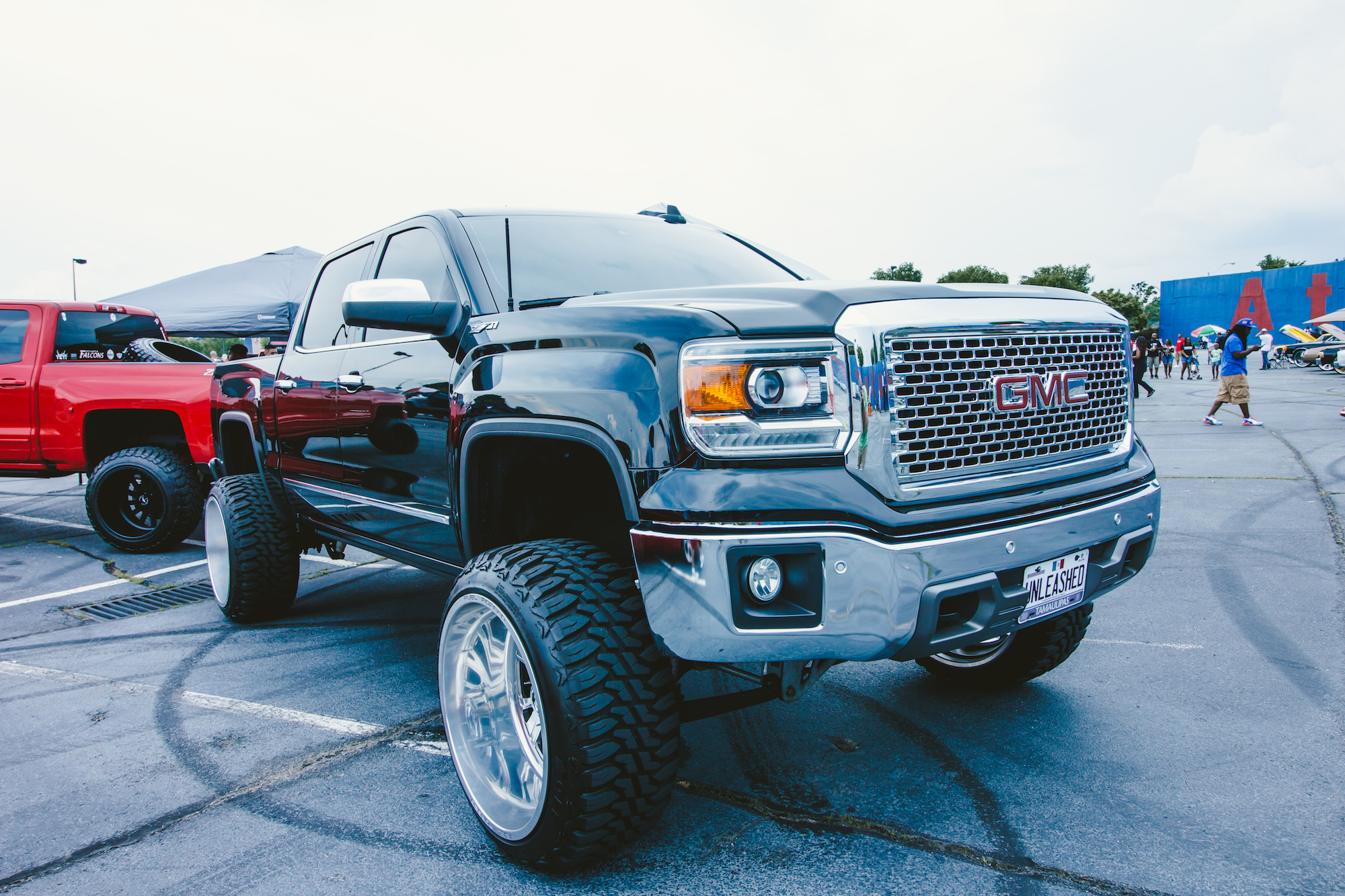 Lifted Trucks Of The Certified Summer Car Show Expedition Georgia - Falcon field car show 2018