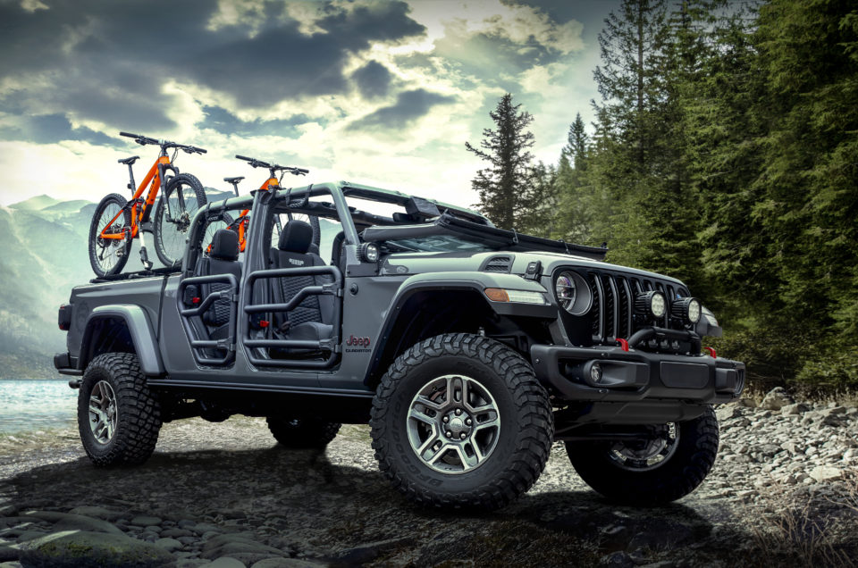 The 2020 Jeep Gladiator Off-Road Truck