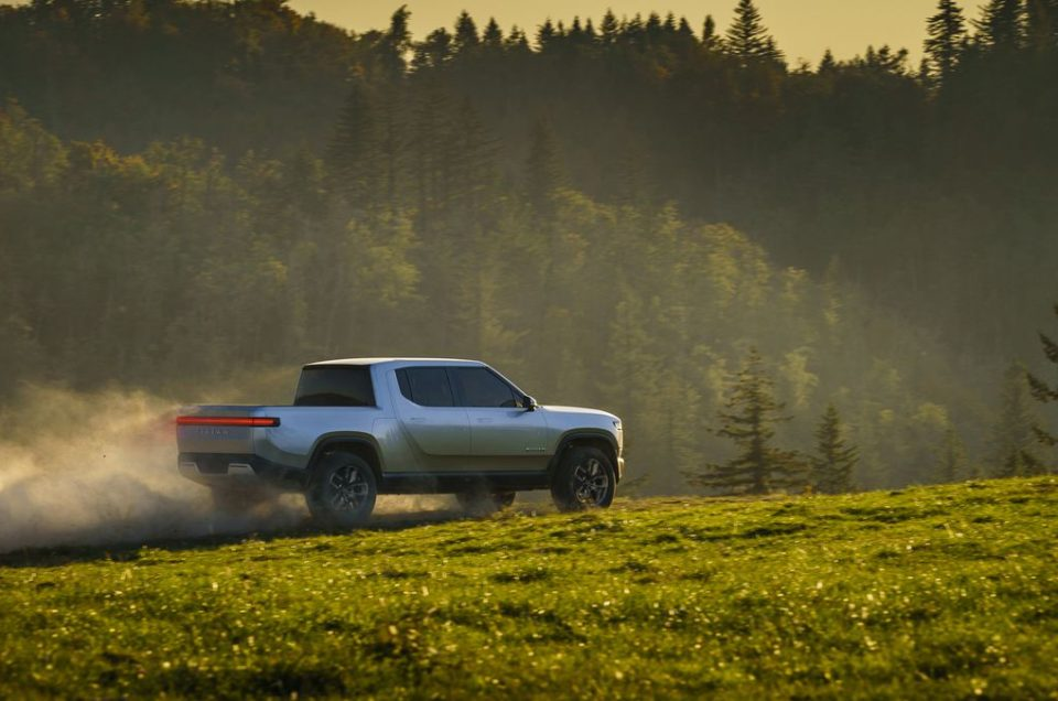 Rivian R1T Electric Expedition Vehicle