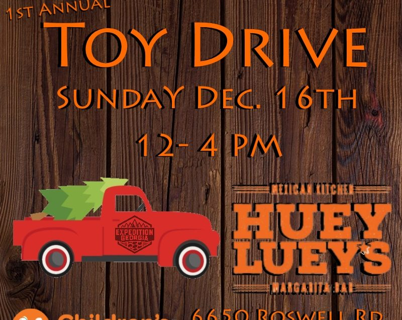 1st Annual Expedition Georgia Toy Drive
