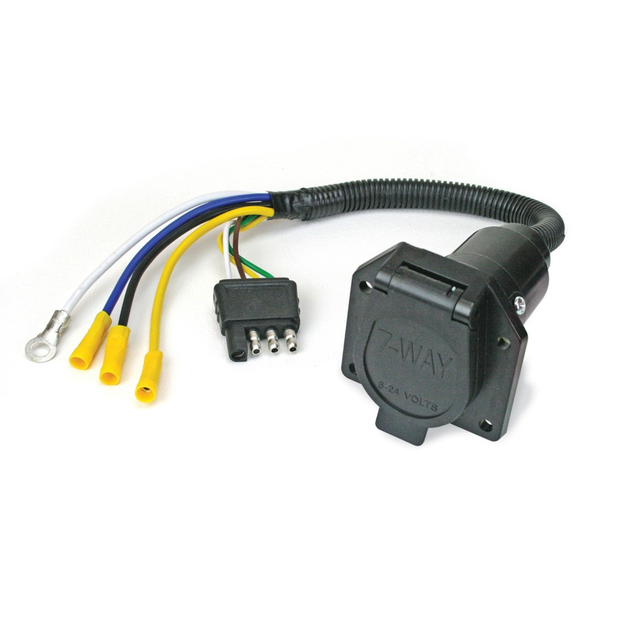 4 Pin to 7 Pin Wiring Adapter Rental – Expedition Georgia  Pin Wire Harness Adapter on 4 pin power cord, 4 pin usb cable, 4 pin spark plug, 4 pin relay, 4 pin power supply,