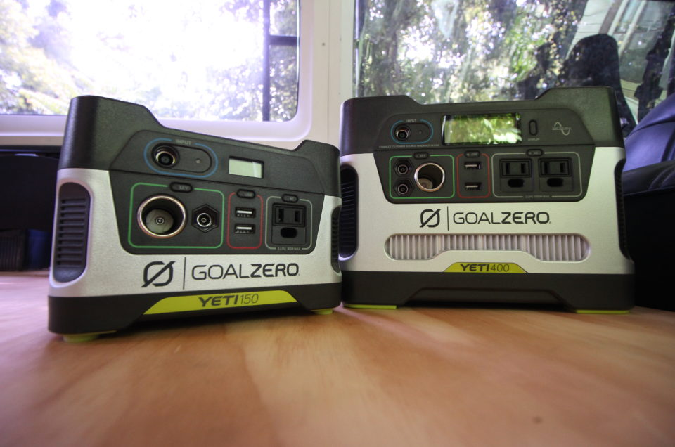 Product Review:  Goal Zero Yeti 150 and Yeti 400