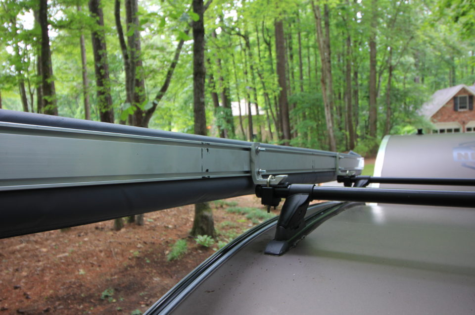 DIY Awning Bracket Mounts